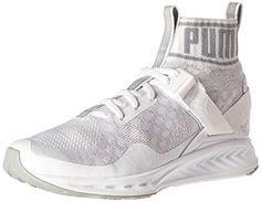 c990e2081788 PUMA Womens Ignite Evoknit Wns CrossTrainer Shoe Puma WhiteQuarryVaporous  Gray 7 M US