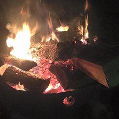 Une super soirée chez des amis avec en prime un agréable feu de camp by jeff_lecomte