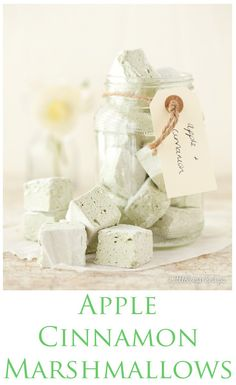 Delicately flavoured Apple Cinnamon Marshmallows are the ultimate treat: soft, bouncy, squidgy, squishy, light as air, cloud-like. Gorgeous hunks.