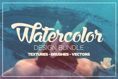 Watercolor Design Bundle by Layerform Magazine on Creative Market