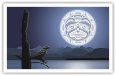 west coast native art print by andy everson
