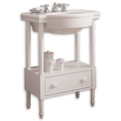 View Retrospect 27 Inch Washstand in White Bathroom Sink Design, Bathroom Storage, Bathroom Sinks, Console Sink, Traditional Bathroom, Bath Remodel, Bathroom Renovations, Kitchen And Bath, Vanity