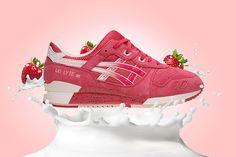 Asics Gel Lyte 3 «Strawberries