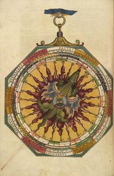 Sign of the Macrocosm from Astronomicum Caesareum, 1540. | The Core Curriculum