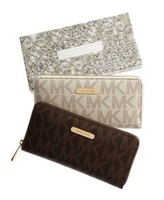 Signature Ziparound Continental Wallet from MICHAEL Michael Kors