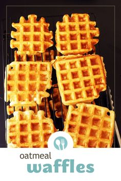 Enjoy our budget friendly oatmeal waffles any day of the week. This oatmeal waffle recipe is easy to meal prep three different ways! You'll love having a healthy option for breakfast the whole family will ask for again and again! Buttermilk Waffles, Homemade Buttermilk, Waffle Recipes, Oatmeal Recipes, Tips For Meal Prepping, Oatmeal Waffles, Waffle Ingredients, Nutella Spread, Recipe Please