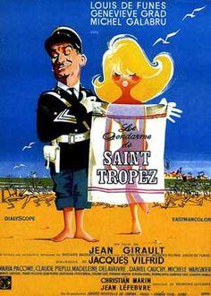 Le Gendarme de Saint-Tropez est un film français réalisé par Jean Girault, sorti en 1964. C'est le premier des six comédies de la série Le Gendarme qui ont rencontré un grand succès à leur sortie, des années 1960 à 1980. Wikipédia / google.ca