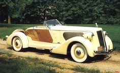 1936 Packard V12... can you imagine driving this on a beautiful summer day?