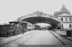 Estación de Concepción, construida 1874