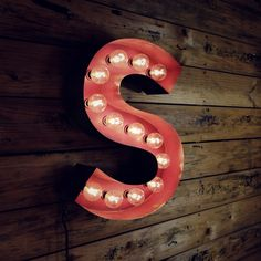 """""""S"""" -- """"Marilyn Marquis Letter, Steel and wood from 16"""", 20"""", and 30"""" high, width varying depending on letter. Any letter available upon request."""""""