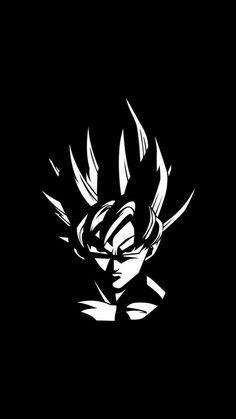 A wallpaper of super saiyan goku in black and white Wallpaper Do Goku, Dark Wallpaper, Dragonball Wallpaper, Dragon Ball Gt, Dragonball Anime, Goku Super, Super Saiyan, Art Graphique, Animes Wallpapers