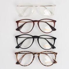 New Men Women Unisex Nerd Geek Clear Lens Eyewear Retro Wayfarer Glasses | eBay