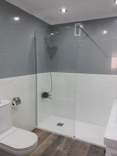 La Reforma De Mi Baño Sin Apenas Obras Baños Pintados Azulejos Pintura De Azulejos De Baños Diseño De Baños