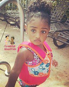 Janiyah Naomi Bing - 1 Year • African American, Puerto Rican & Ecuadorian ❤