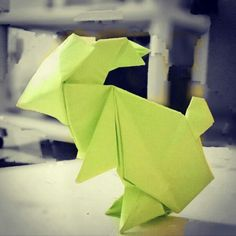 #rabbit #origami #cute Origami Rabbit
