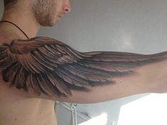35 Breathtaking Wings Tattoo Designs Tatts Tattoos Wing Tattoo