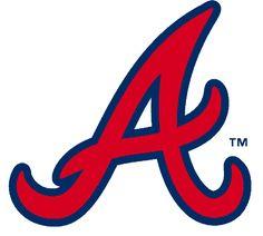 Atlanta Braves Alternate Logo on Chris Creamer's Sports Logos Page - SportsLogos. A virtual museum of sports logos, uniforms and historical items. T Shirt Designs, Atlanta Braves Shirt, Be Brave Tattoo, Turner Field, John Fogerty, Georgie, Braves Baseball, Baseball Stuff, Braves Game