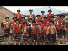 Nagas from 9 villages perform their tribal folk songs & dances. HDM's - ...
