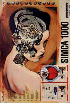 """""""Maquina de sueños"""" - Fernando Vicente {bizarre #surreal anatomy illustration} <3 fernandovicente.es"""