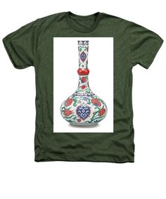 An Ottoman Iznik Style Floral Design Pottery Polychrome, By Adam Asar, No 5 - Heathers T-Shirt