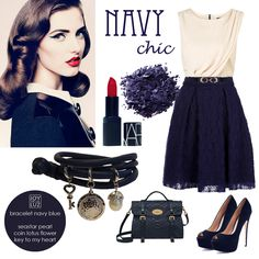 Joy de la Luz | Joy in Navy chic