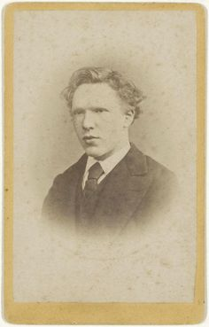 Vincent van Gogh aged 19, January 1873 -by J.M.W. de Louw (The Hague)