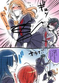 XDDD BDSM , Masato do something, Ren's suffering !! LMAO