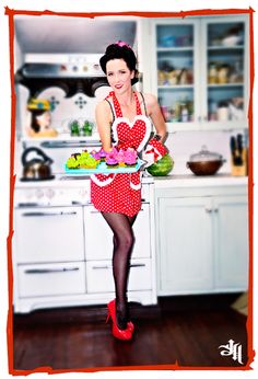This is what I would wear if I was to ever spend time in the kitchen