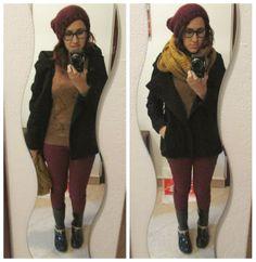 A - B - Beauty - Anita's Blog of beauty: OUTFIT WINTER BORDEAUX&CAMEL