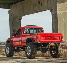 It's a Jeep to o Jeep Pickup, Jeep 4x4, Jeep Truck, Chevy Trucks, Pickup Trucks, Lifted Trucks, Comanche Jeep, Jeep Cherokee Xj, Jeep Wrangler