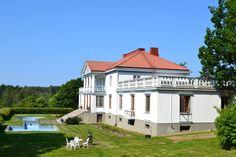 Söderlångvik Gård / Kartano / Manor Finland, Mansions, House Styles, Home Decor, Decoration Home, Manor Houses, Room Decor, Villas, Mansion