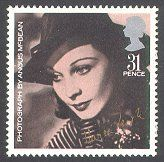 Vivien Leigh, issued in 1985 to mark British Film Year.