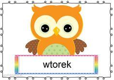 dni3 Borders For Paper, Borders And Frames, Owl Theme Classroom, Tweety, Children, Kids, Pikachu, Calendar, Kawaii