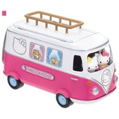 Hello Kitty camper... combines two of my favorite things =]
