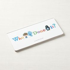 Who Done It Book + Reviews | Crate and Barrel