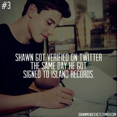 shawn mendes facts | Tumblr