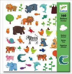 Djeco Dieren stickers 160 stuks 4j #animal from www.kidsdinge.com www.facebook.com/pages/kidsdingecom-Origineel-speelgoed-hebbedingen-voor-hippe-kids/160122710686387?sk=wall http://instagram.com/kidsdinge