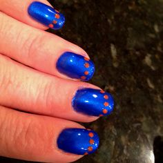 Go Gators nails
