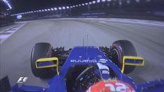 Felipe Nasr, Sauber C34 during Qualifying for the Singapore Grand Prix
