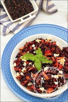 Salade-riz-noir-poivrons grillés-chou-fleur-amandes (3)
