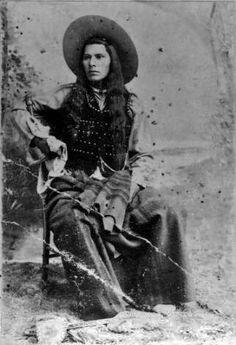 Nez Perce Man - circa 1890