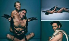 Imagen insertada/CELEBRETIES POSE NAKED WITH DEAD FISH TO HIGHLIGHT THE PLIGHT OF THE MARINE LIFE/ MORE DETAIL IN DOUBLE CLICK IN IMAGE