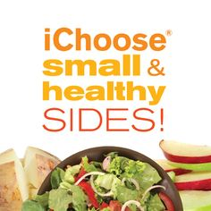 Sides can be filling and healthy www.facebook.com/iChoose600