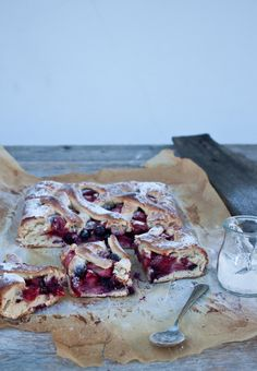 Summer Berry Bread by Little Upside Down Cake