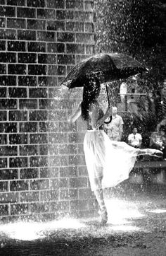 "Rain. It's such a blessing! ""Life's not about waiting for the storm to pass, It's about learning to dance in the rain!""-unknown"