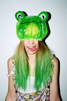 Green ombre.
