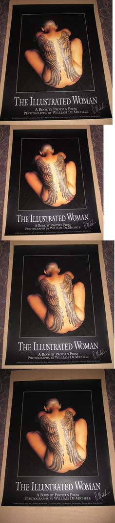 Other Tattoos and Body Art: Tattoo Poster The Illustrated Woman Signed 1991 Bob Roberts -> BUY IT NOW ONLY: $49.99 on eBay!