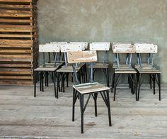Best belli sgabelli e belle sedie per una cucina industriale