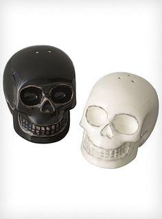 $12.79 Memento Mori Skull Salt Shakers   PLASTICLAND  http://www.shopplasticland.com/store/merchant.mvc?Screen=PROD_Code=P20629002_Code=The-New-Victorians