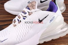 low priced 1282a 0c77d Custom Nike Air Max 270 Gucci Snake GG Air Max 180, Tacones Púrpuras,  Zapatos